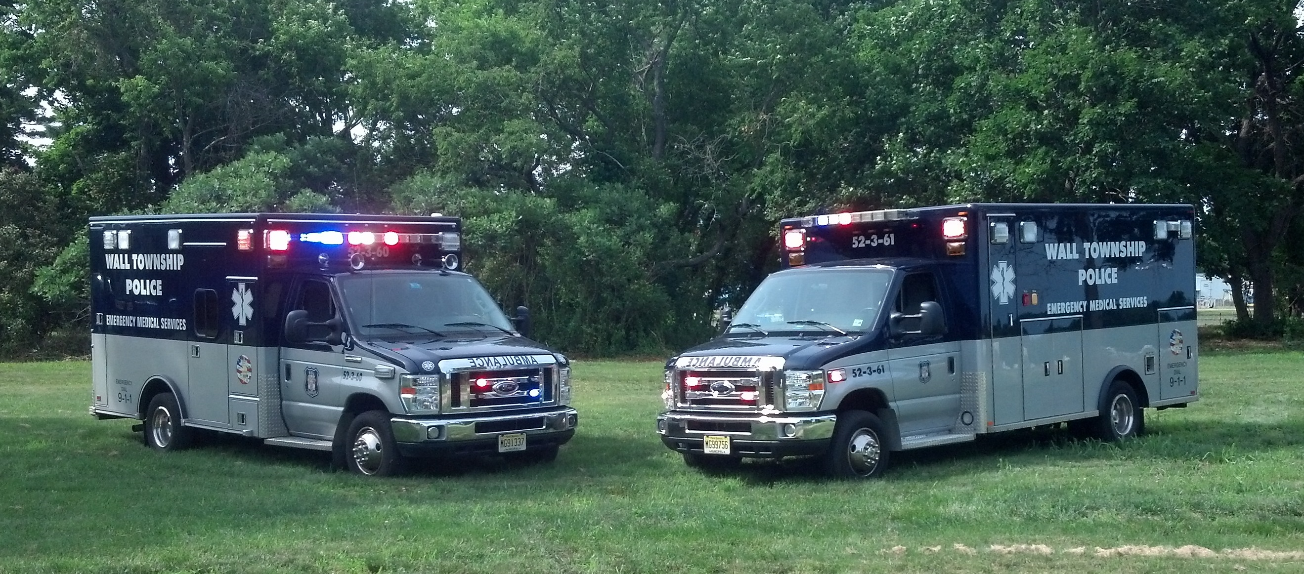 emergency medical services  u2013 wall township police