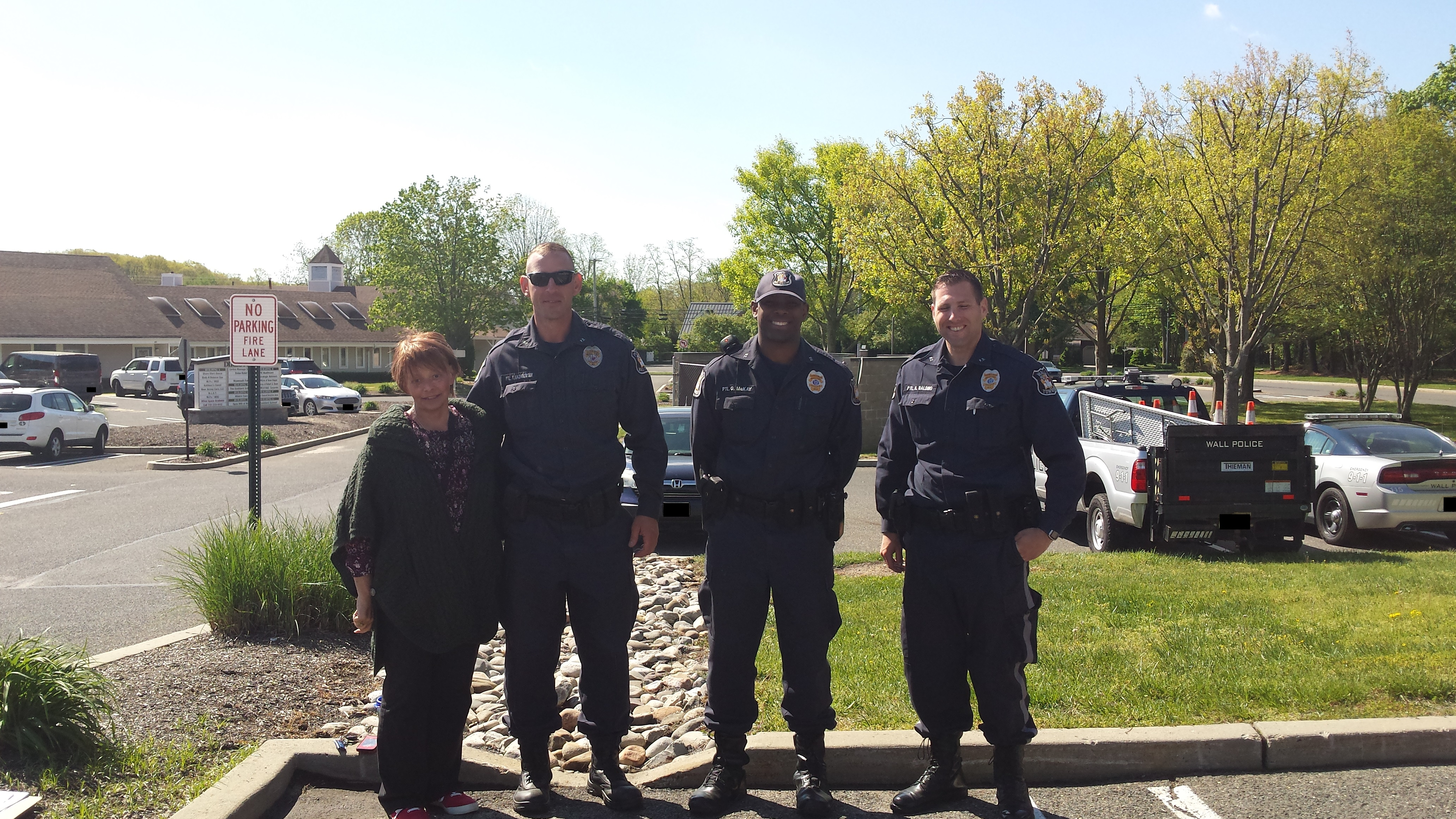 A Total Of 26 Car Seats Were Inspected During This Detail Pictured Below From Left To Right Are Molly Berkowitz RN JSUMC Injury Prevention Coordinator