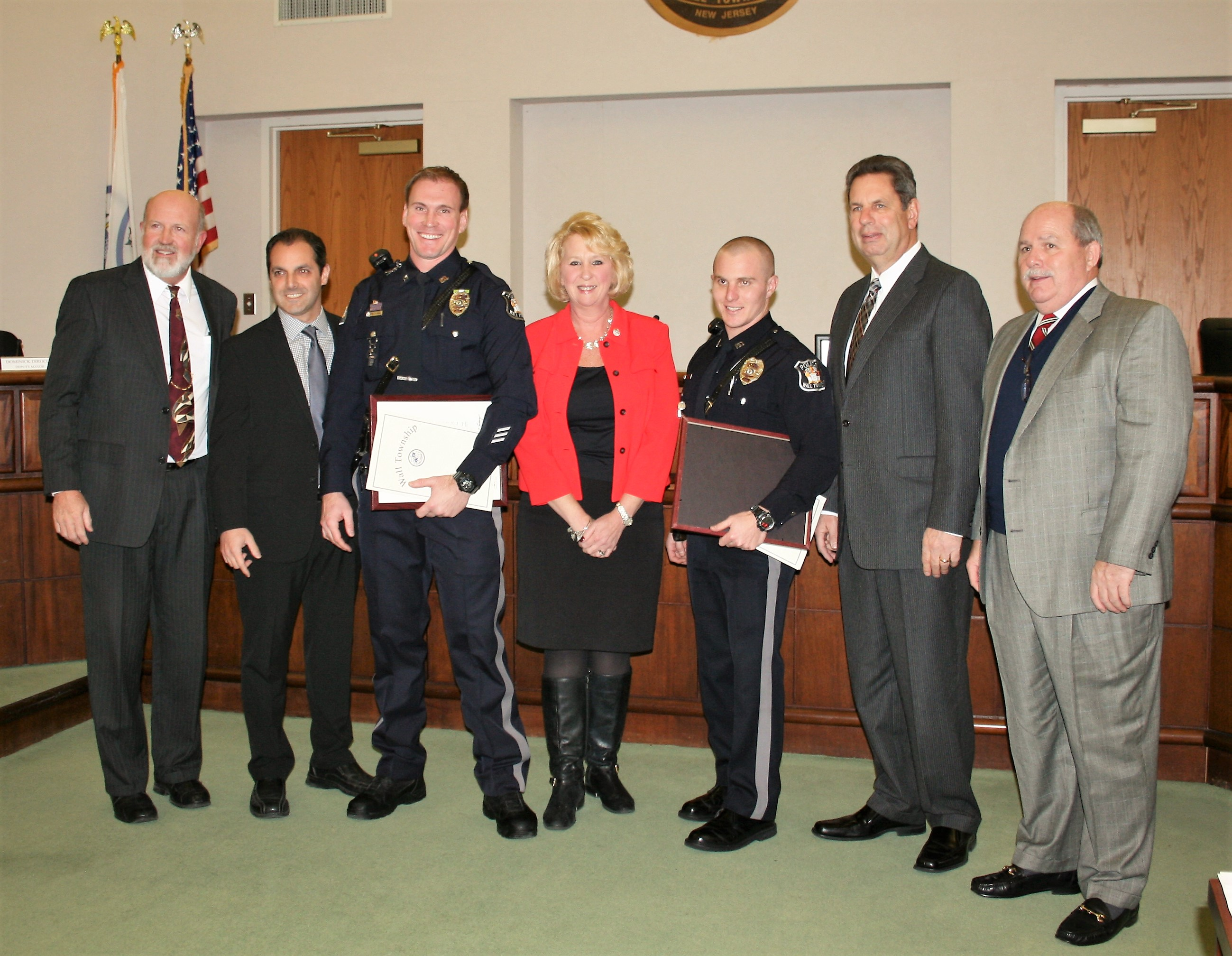 Car Seat Disposal >> Wall Police Officers Receive Two Proclamations – Wall Township Police Department (732) 449-4500